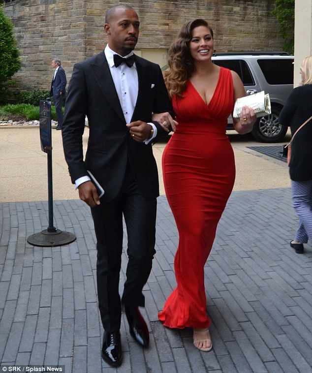 Date night: The brunette beauty and her husband married in 2010 after dating for a year. Above, the couple head to the White House Correspondents Dinner in Washington, DC on May 1
