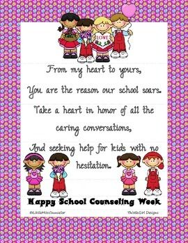 17 Best images about School Counselor Appreciation Week on ...
