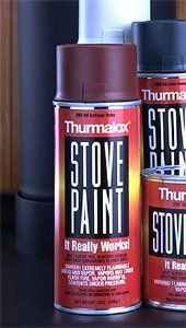 Clear Stove Paint for a glossy finish