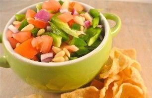Recept voor groene paprika salsa | Vers van de Teler