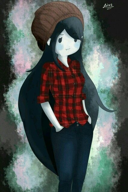 Marceline - Adventure Time I would dress like this everyday!