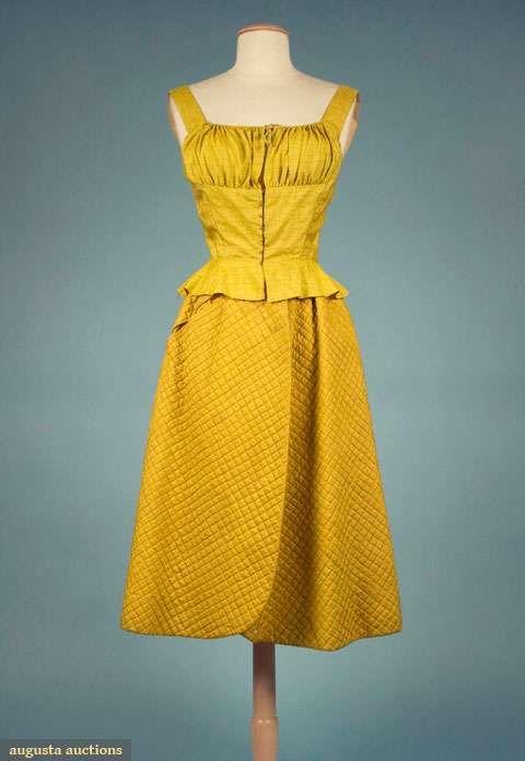 Dress    Bonnie Cashin, 1950    Augusta Auctions