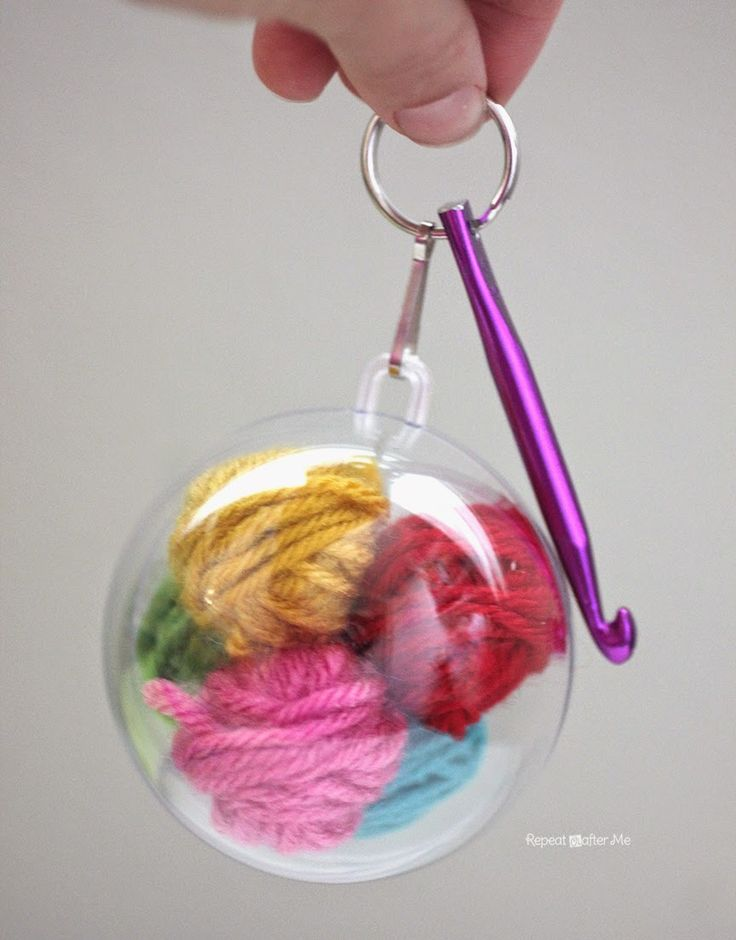 Repeat Crafter Me: Crochet Emergency Keychain
