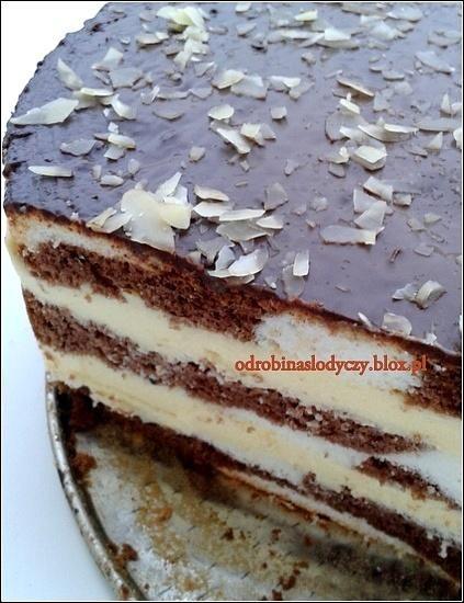 Ciasto łaciate z masą sernikową