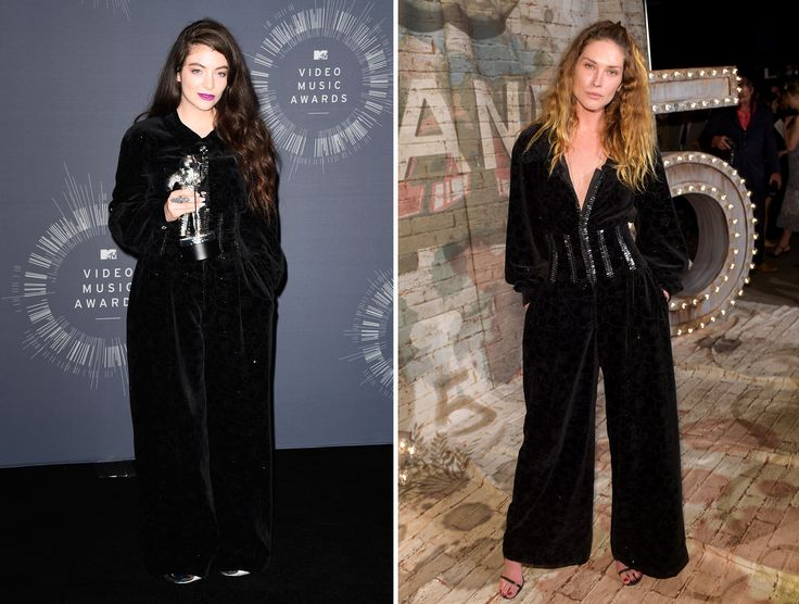 Celebs in the same outfit