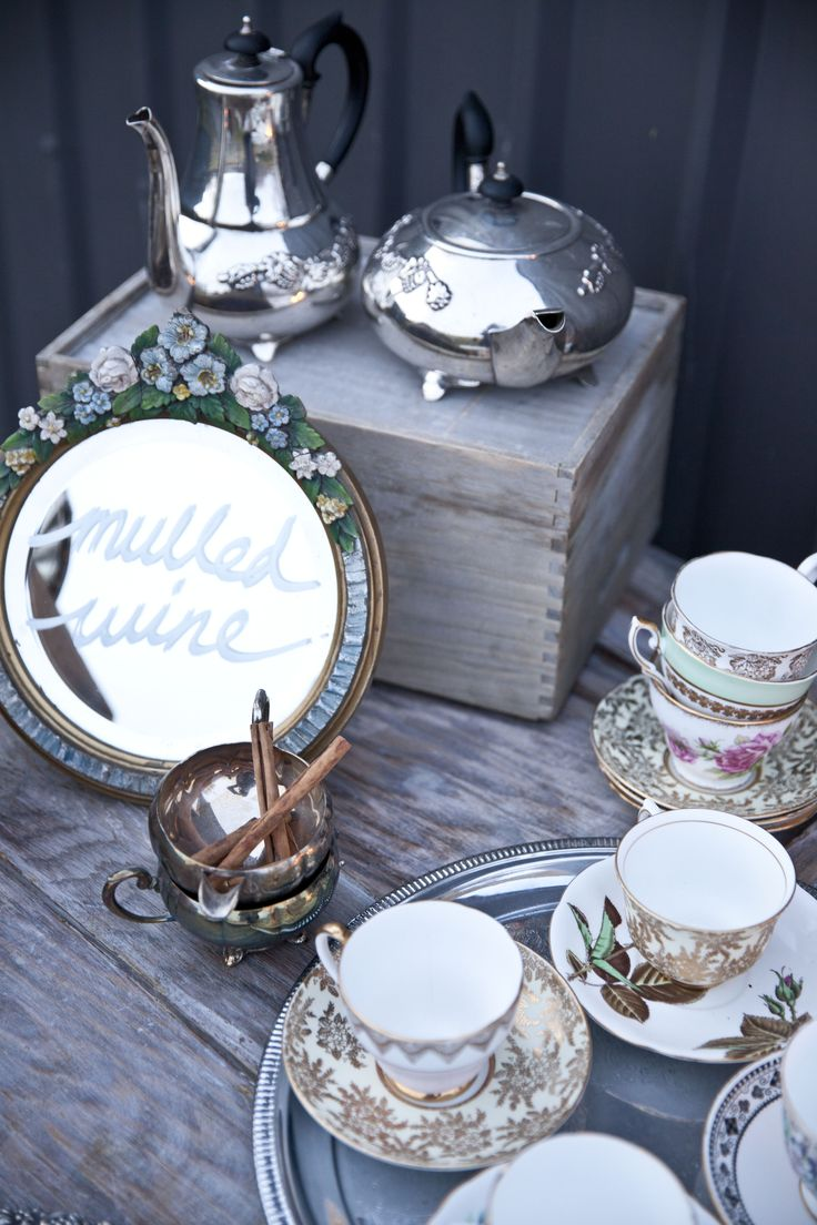 Vintage Wedding | Vintage China | Silverware