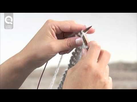 ▶ Lavora a maglia con Emma Fassio - Sciarpa semplice a legaccio - Parte 3 - YouTube