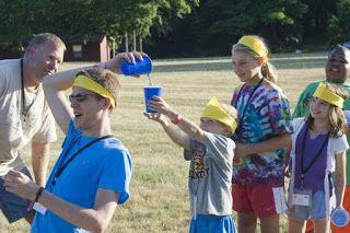 Jocuri pentru copii mari şi mici: jocuri de tabără