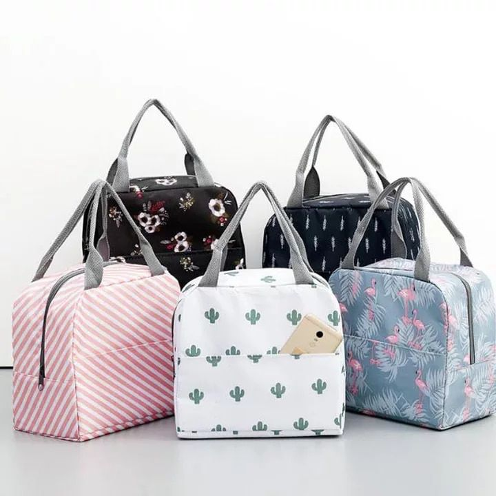 Women Kids Insulated Lunch Bag Thermal Cooler Picnic Food Box Tote Carry Bags