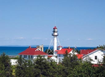 Great Lakes Shipwreck Museum & Whitefish Point Light Station, Paradise