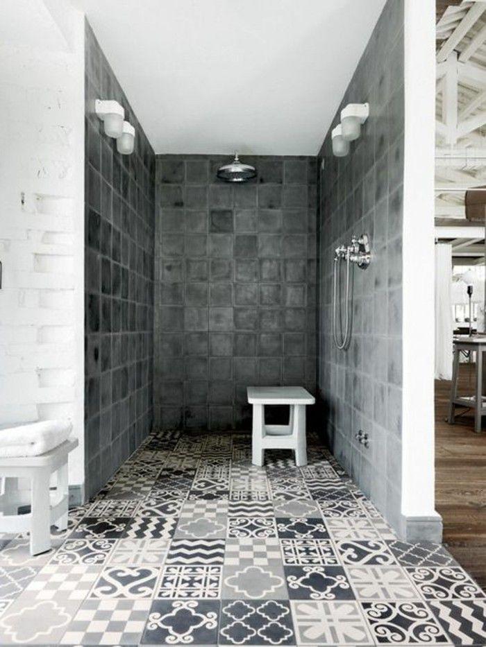 106 best Douche à l italienne images on Pinterest Bathroom - salle de bains douche italienne