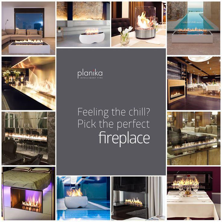 Planika Fires - #design #fireplace #contemporary www.planikafires.com www.facebook.com/planikafire