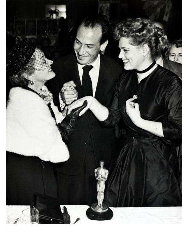 23ème cérémonie des Academy Awards, 1951 - #JudyHolliday #JoseFerrer #BornYesterday #GloriaSwanson