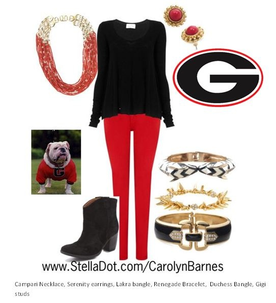 Perfect game day outfit!