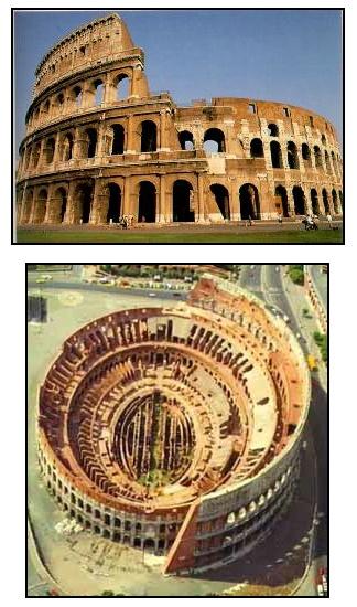 ANCIENT ROMAN ARCHITECTURE The Roman Colosseum