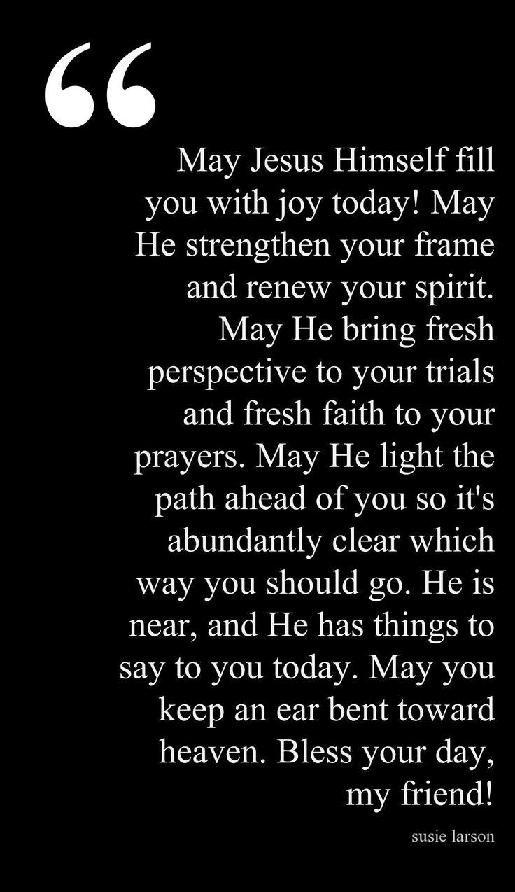 Start a Day BlessingCanvas