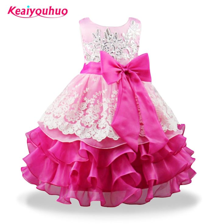 Like and Share if you want this  Stunning Frilled Flower Princess Party Dress.     Tag a friend who would love this!     FREE Shipping Worldwide     Get it here ---> https://littleunsonline.com/shop/baby-girl-formal-wear-dress-children-gilrs-prom-dresses-for-kids-clothes-flower-princess-girl-party-dress-wedding-ball-gown-3-8t/