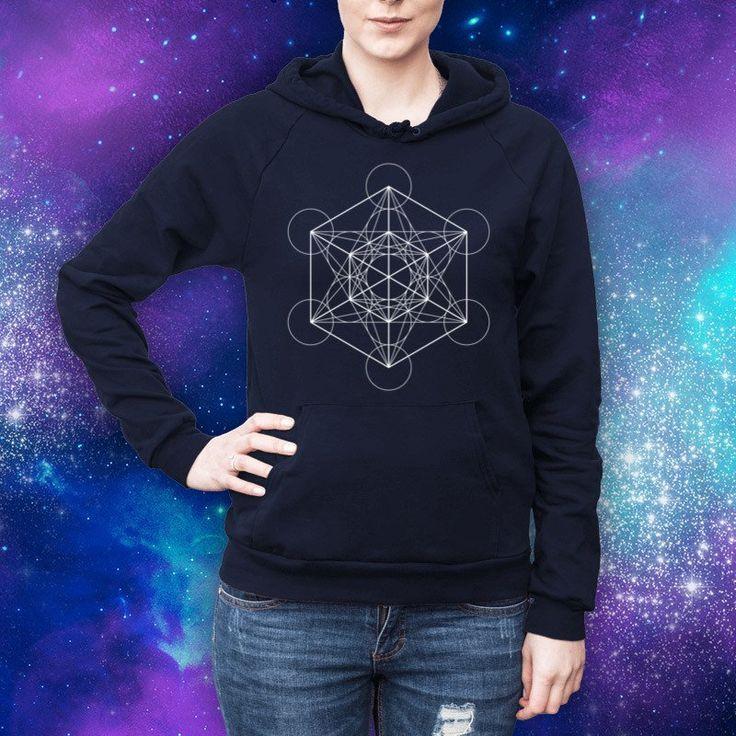 Metatron's Cube Hoodie