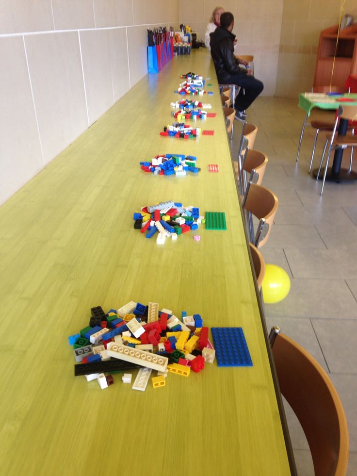 Lego building contest-tallest tower without holding it wins!