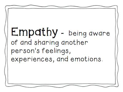 Learning With Mrs. Parker: Teaching Empathy to Young Learners -- such a great post with awesome videos and a book!