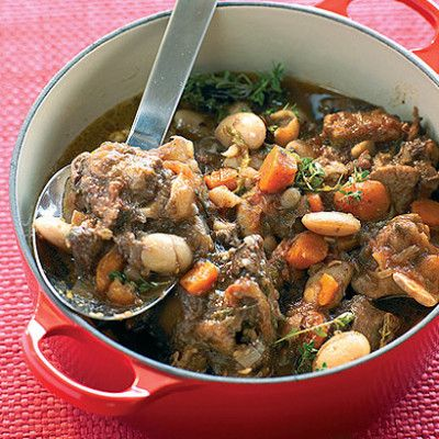 Taste Mag   Slow cooked oxtail and beans @ https://taste.co.za/recipes/slow-cooked-oxtail-and-beans/