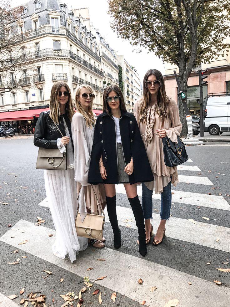 Paris girl gang: http://www.ohhcouture.com/2016/10/paris-update-pfw/ |  #paris #ohhcouture #leoniehanne