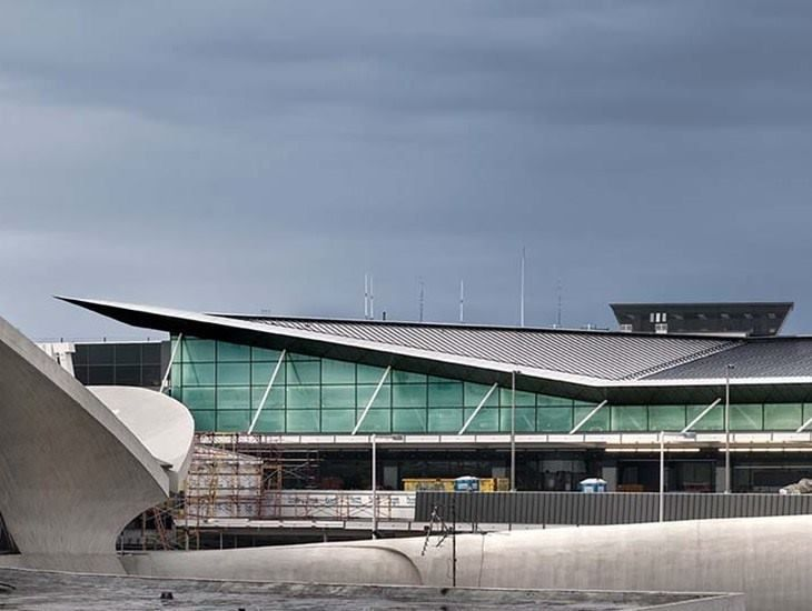 JetBlue Terminal 5 at New York's John F. Kennedy International Airport.