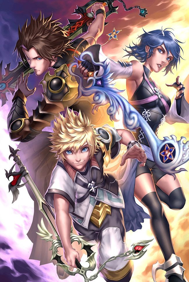 Artstation Kingdom Hearts Drake Winson Tsui Kingdom Hearts Fanart Terra Kingdom Hearts Kingdom Hearts