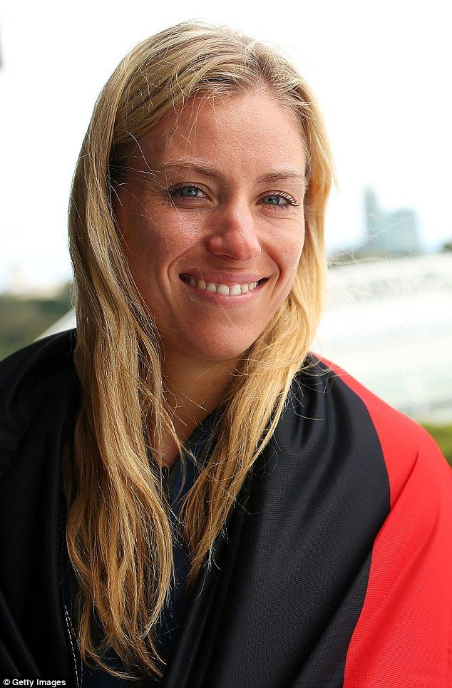 In an emotional post-match interview, Kerber said that in the lead-up to the tournament Graf has said she was 'hoping for me and thinking of me'