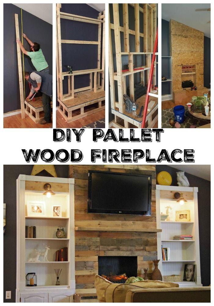 Best 25+ Wood fireplace ideas on Pinterest   Stone ...