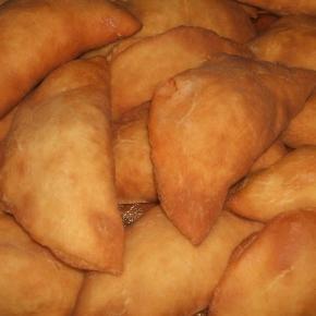 Le pizze fritte Napoletane dette anche calzoncelli.