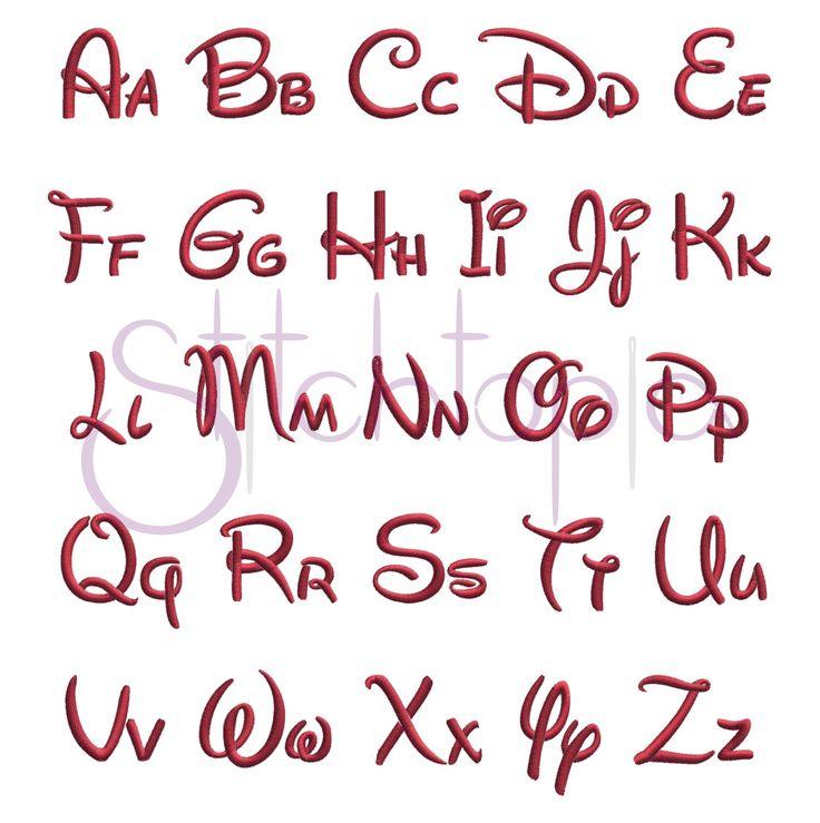 Stitchtopia Pixie Monogram Set All Letters