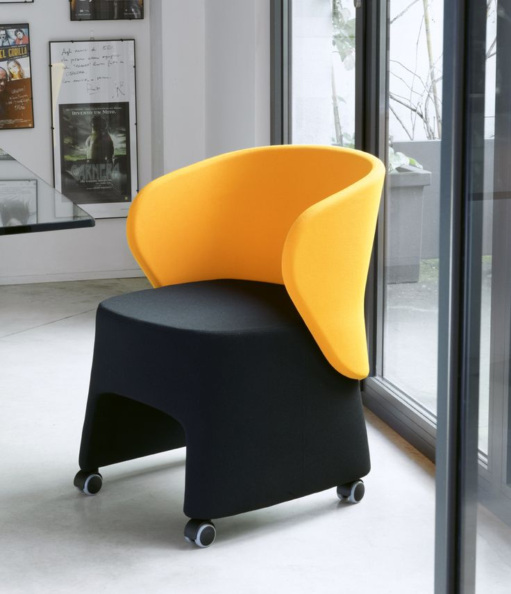 Tub chair with contemporary design #meeting #chair #Blog_Sesta