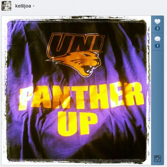 """Panther Up"" Always a good idea."