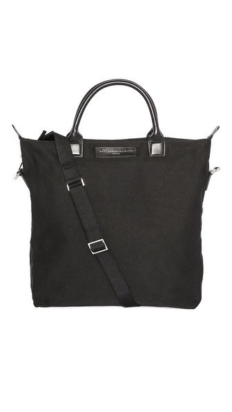 WANT Les Essentiels de la Vie black canvas tote