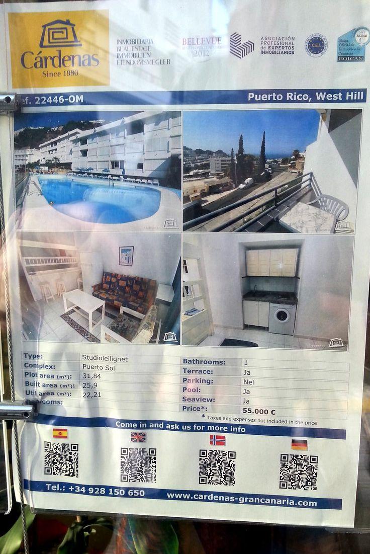 'Immobilien aus dem Ort' aus dem Reiseblog 'Über Weihnachten auf den Kanaren: Urlaub im Dorado Beach auf Gran Canaria'