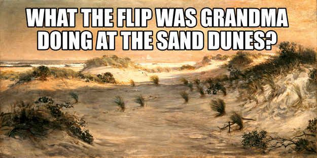 "Community: Classic Paintings Hilariously Paired With Quotes From ""Napoleon Dynamite"""