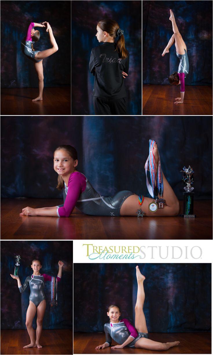 Удачные позы для фотосессии гимнастки