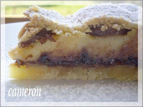 torta di crema e amaretti,in vista!!!
