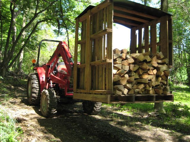 firewood pallet - Google Search | Palletized Firewood | Pinterest | Firewood, Pallets and ...