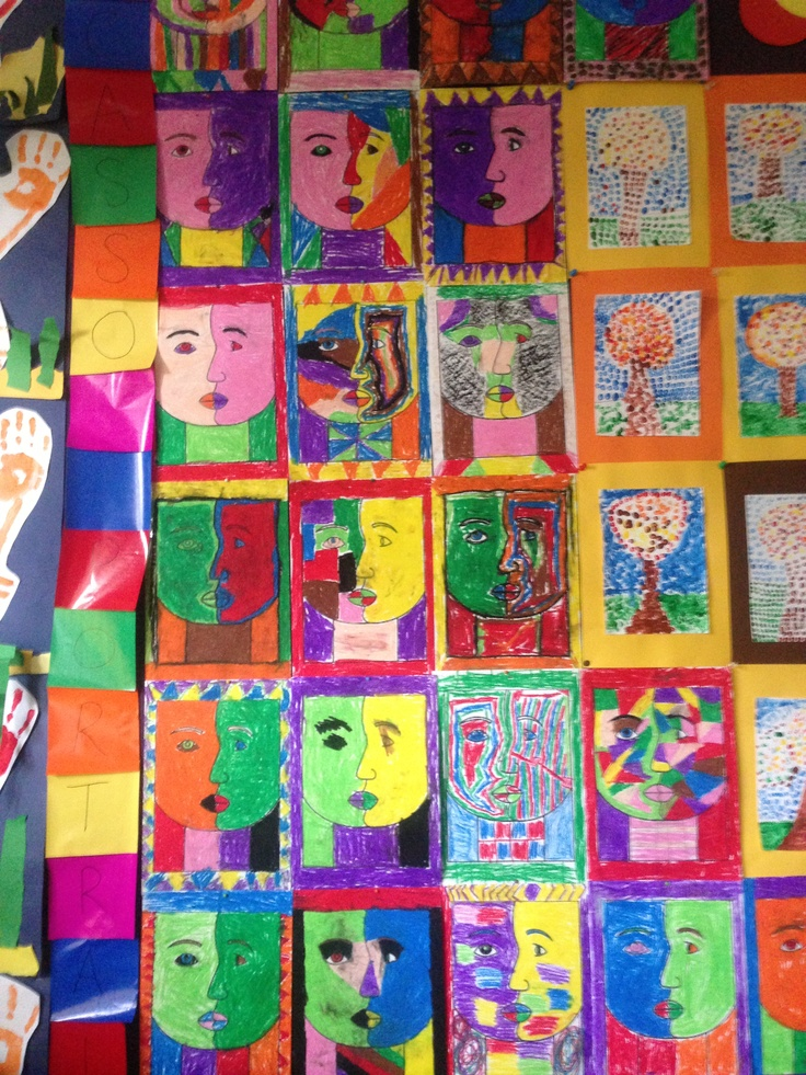 Picasso Portraits by Grade