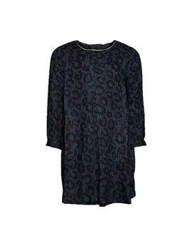 AMERICAN OUTFITTERS Girls Petrol Blue Leopard Dress. Shop here: http://www.tilltwelve.com/en/eur/product/1077843/AMERICAN-OUTFITTERS-Girls-Petrol-Blue-Leopard-Dress/