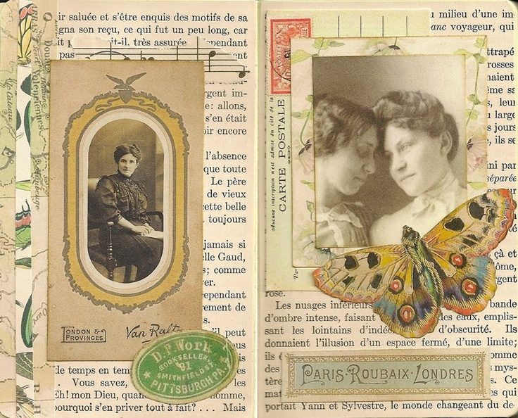 Vintage glue book ideas