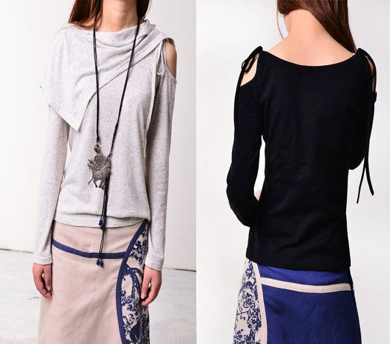 Wandering poet  top and neck warmer set Y3106 by idea2lifestyle, $39.00