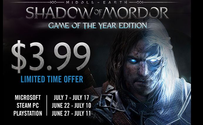 Middle-Earth: Shadow of Mordor will be 3.99 from June 27 to July 11 [Screenshot] [Middle-Earth: Shadow of Mordor] #Playstation4 #PS4 #Sony #videogames #playstation #gamer #games #gaming