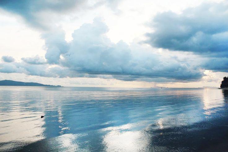 Koh Phangan, sea, rain, thailand