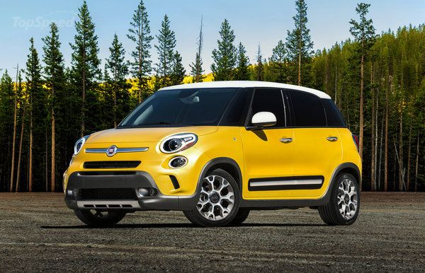 2014 Fiat 4 door Dream car. For real. Yellow, four doors, adorable. It's perfect!