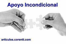 El apoyo incondicional tienen ventajas y desventajas, entonces debe usarse con precaución. http://articulos.corentt.com/