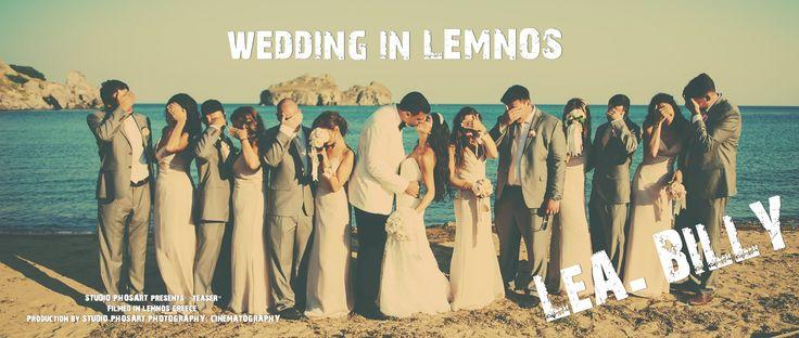 Lea & Billy | Wedding in Lemnos |http://www.love4weddings.gr/wedding-in-lemnos/