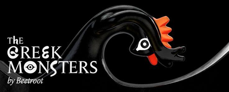 Η έκθεση της #Beetroot design group, The Greek Monsters ανοίγει στο Μανχάταν! #TheGreekMonsters
